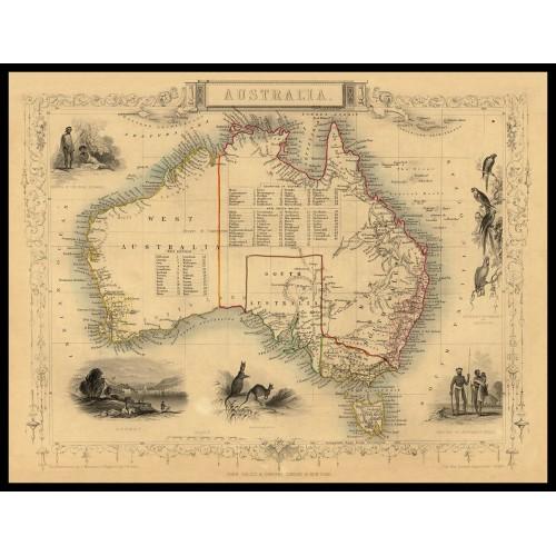 AUSTRALIA 1851