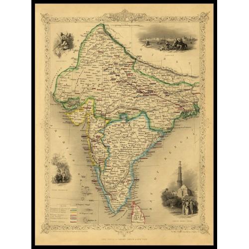 BRITISH INDIA 1851