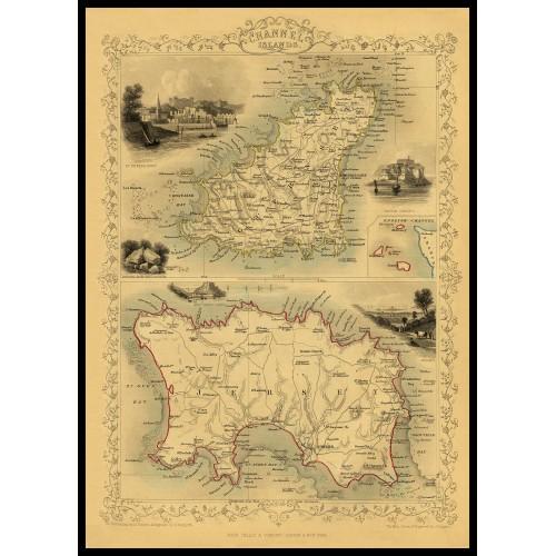 CHANNEL ISLAND 1851