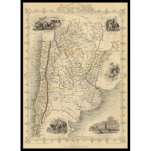 CHILI AND LA PLATA 1851
