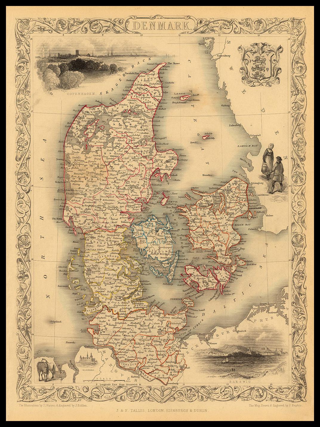 DENMARK 1851