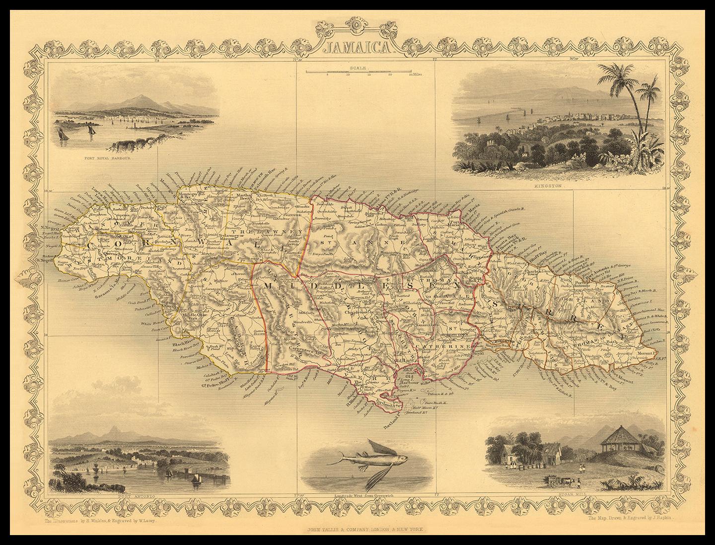 JAMAICA 1851