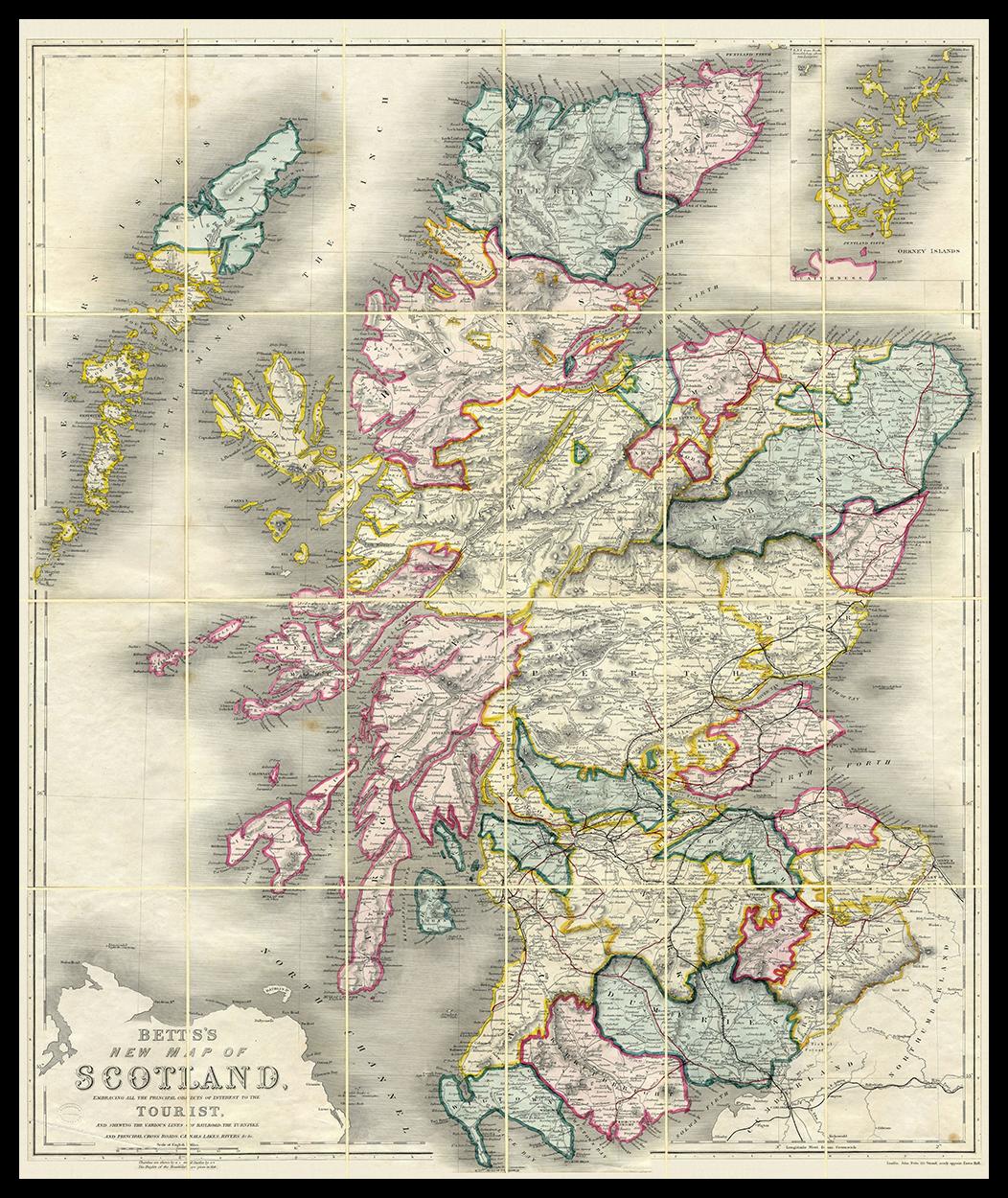 SCOTLAND 1847