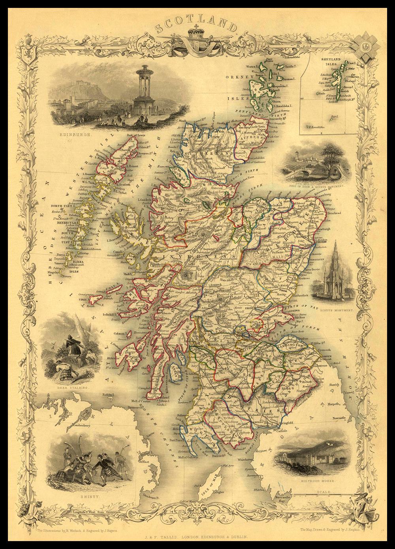 SCOTLAND 1851