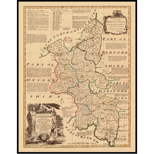 BUCKINGHAMSHIRE 1760