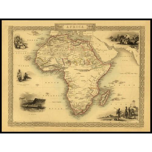 AFRICA 1851