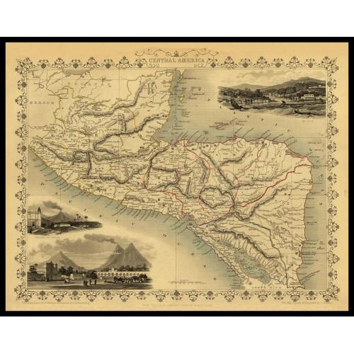 CENTRAL AMERICA 1851
