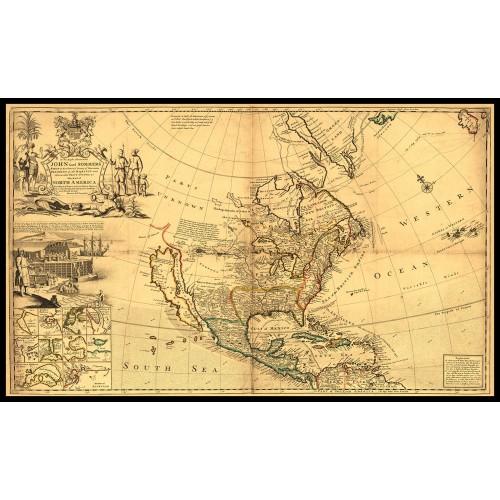 NORTH AMERICA 1719