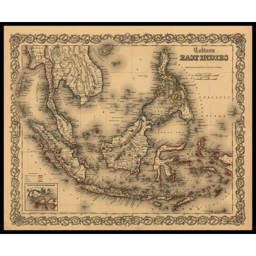 EAST INDIES 1855
