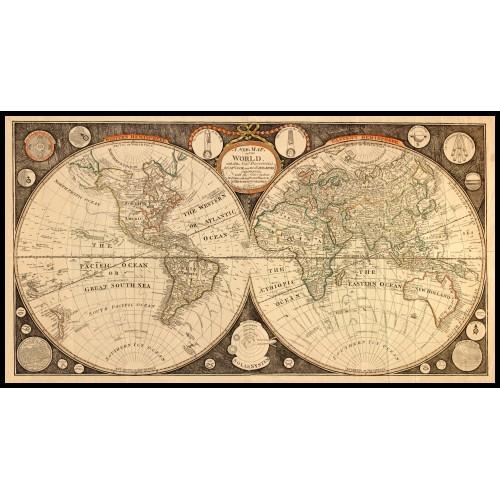 WORLD MAP 1799